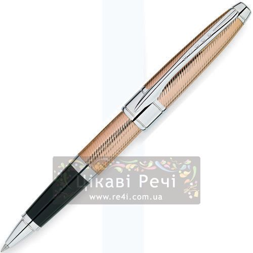 Ручка-роллер Cross Apogee Executive 18K Rose Gold PT, фото
