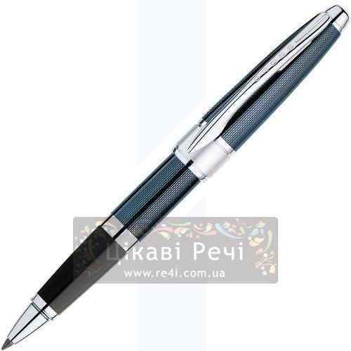 Ручка-роллер Cross Apogee Frosty Steel Blue, фото