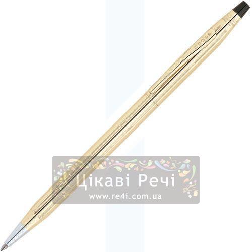 Шариковая ручка Cross Century 10 Kar. Rolled Gold, фото