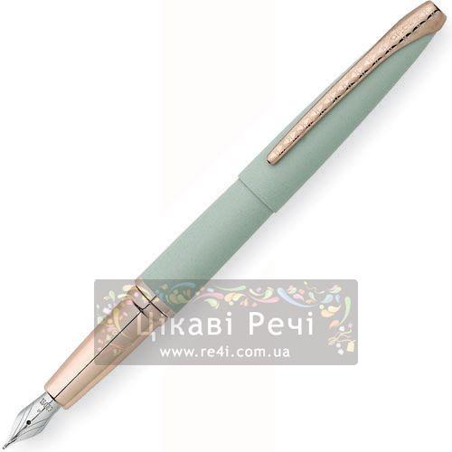 Перьевая ручка Cross Atx Maltese Jade Green, фото