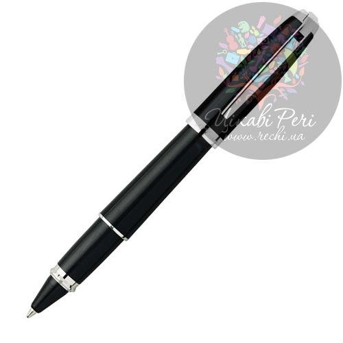 Ручка-роллер S. T. Dupont Olympio Medium Rollerball Laquer and Palladium, фото