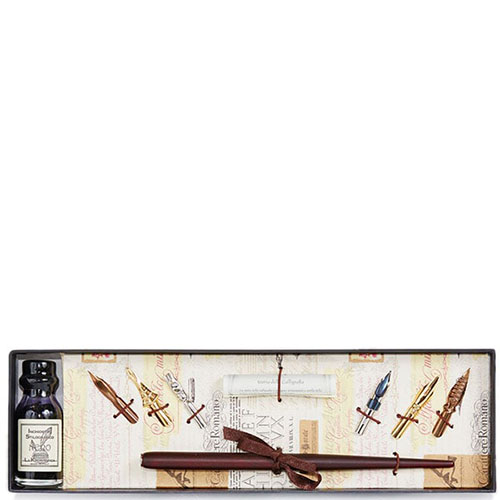 Письменный набор La Kaligrafica с шестью сменными перьями, фото