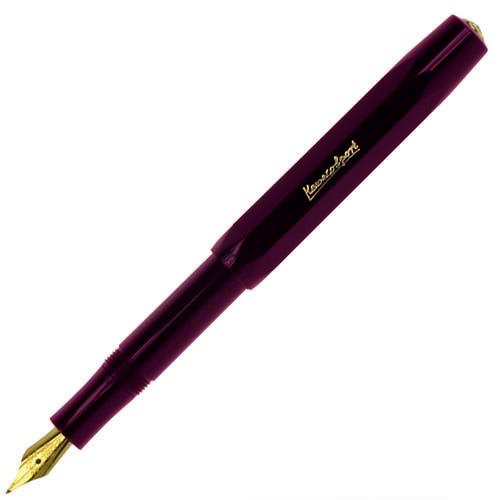Перьевая ручка Kaweco Сlassic с корпусом бордового цвета, фото