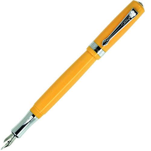 Перьевая ручка Kaweco Student 2 с корпусом желтого цвета, фото
