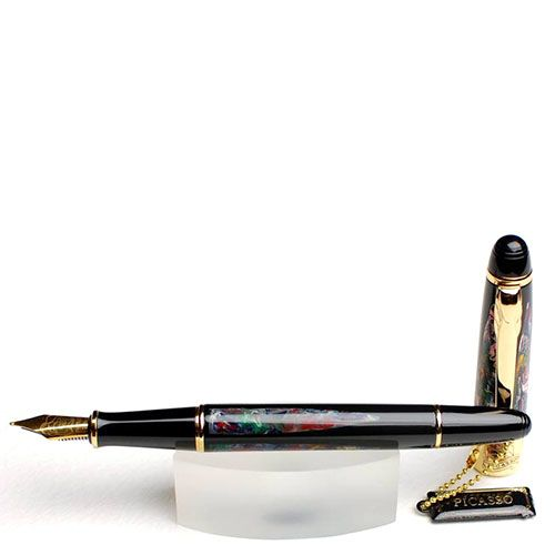 Перьевая ручка Picasso 89-А с цветными узорами, фото