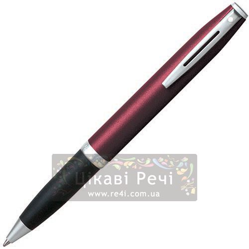 Шариковая ручка Sheaffer Javelin Matte Cranberry CT, фото