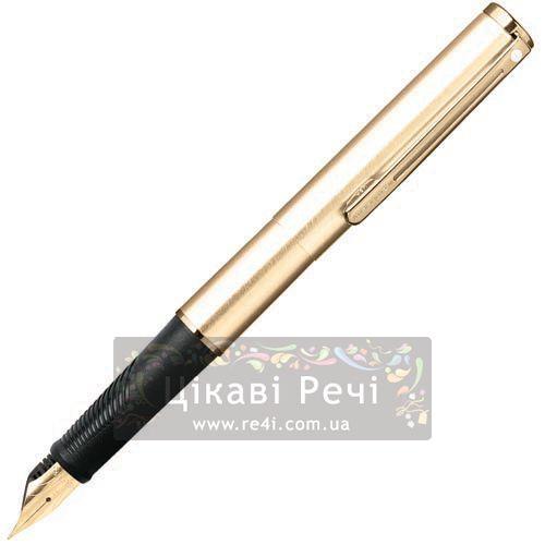 Перьевая ручка Sheaffer Agio Compact Brushed Gold Plated GT, фото