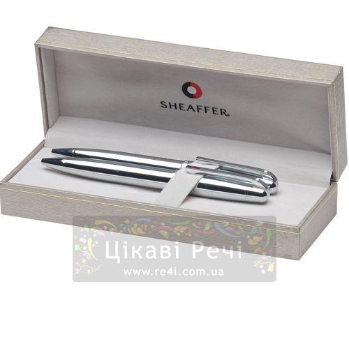 Набор Шариковая ручка/Карандаш Sheaffer Gift Collection 500 Bright Chrome CT, фото