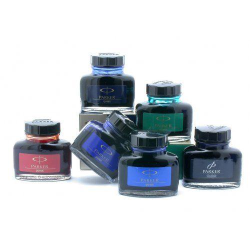Чернила Parker Quink темно-синие, фото