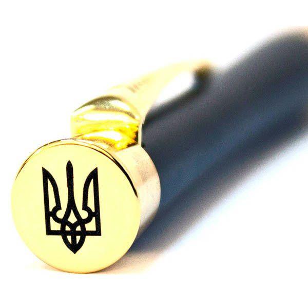 Шариковая ручка Parker URBAN Muted Black GT BP Трезубец