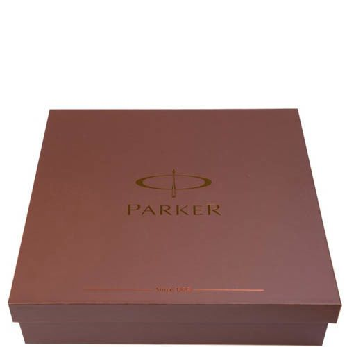 Перьевая ручка Parker Premium  Dark Gun Metal Chiselled с чернилами