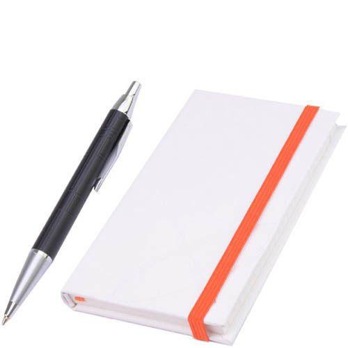 Набор Parker Premium Matt Black с шариковой ручкой и блокнотом