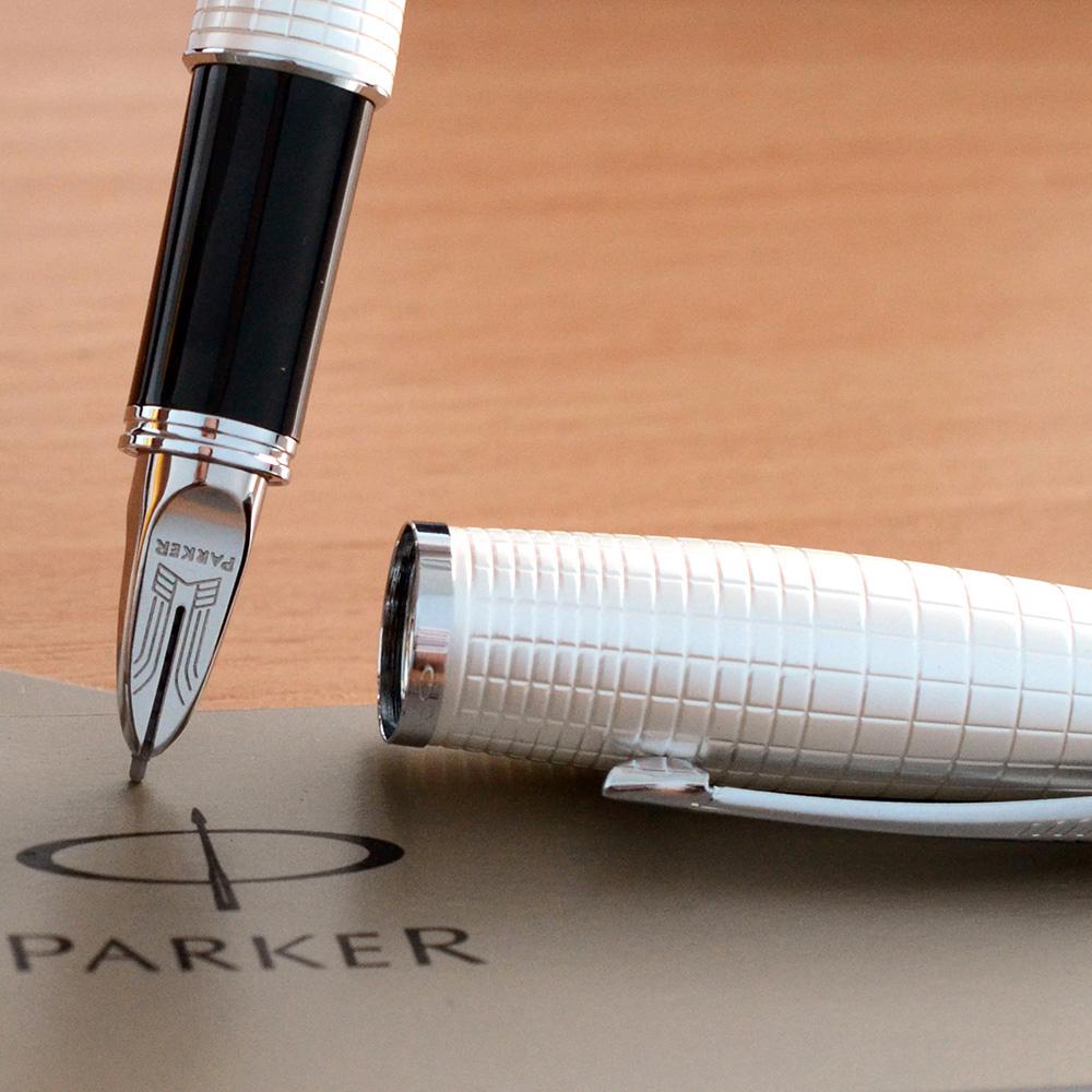 Ручка 5th mode Parker Urban Premium Pearl Metal Chiselled