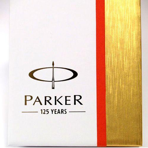 Набор из двух ручек Parker Premium Ebony Metal Chiselled