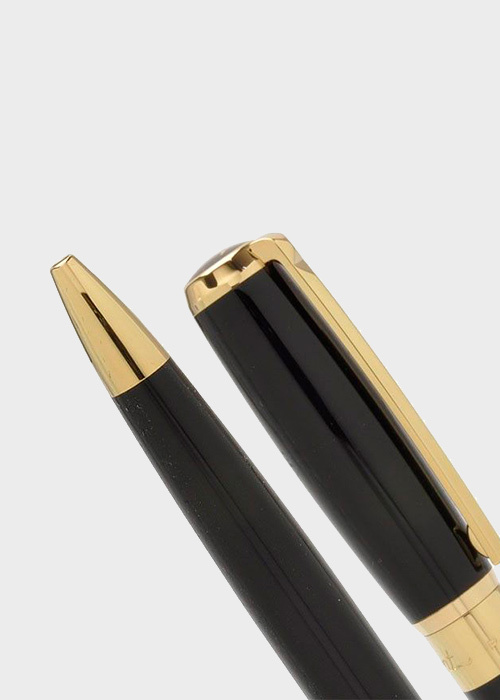 Ручка шариковая S.T.Dupont ELYSEE BLACK GOLD