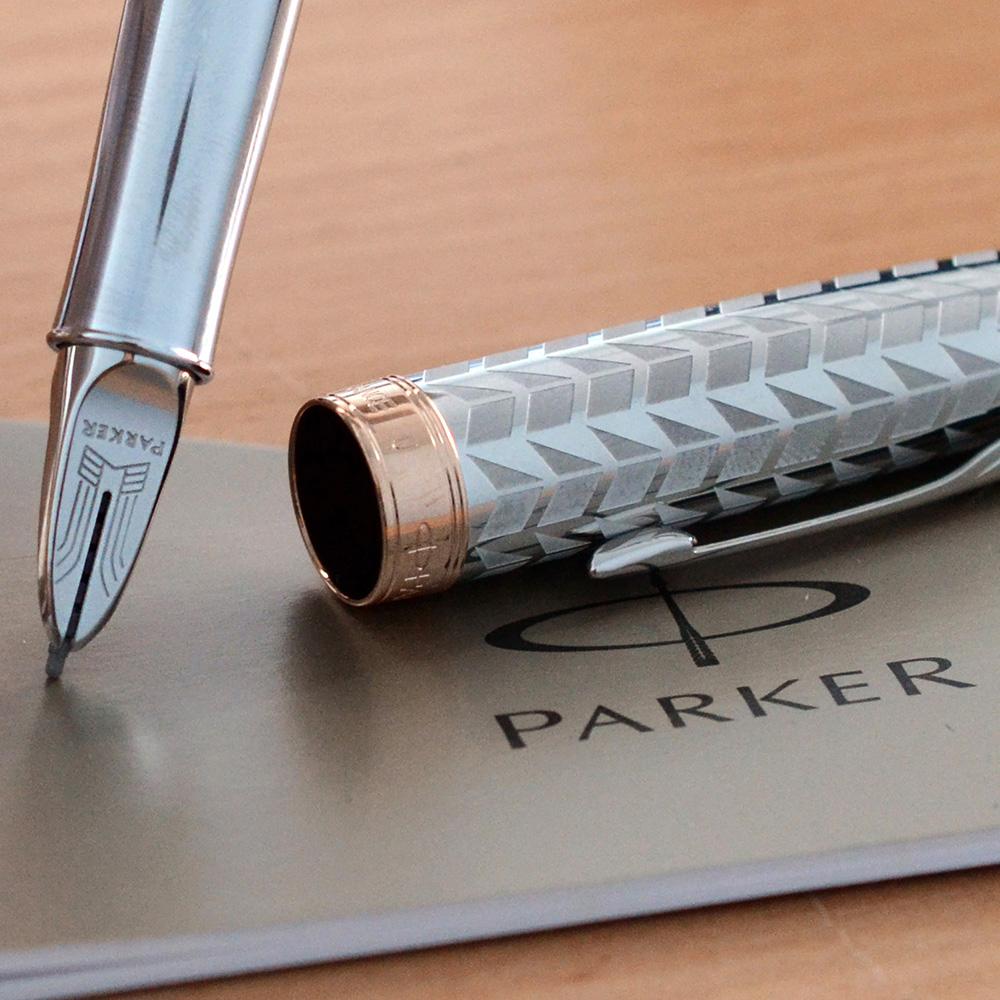Ручка 5th mode Parker Sonnet Metal & Pearl CT
