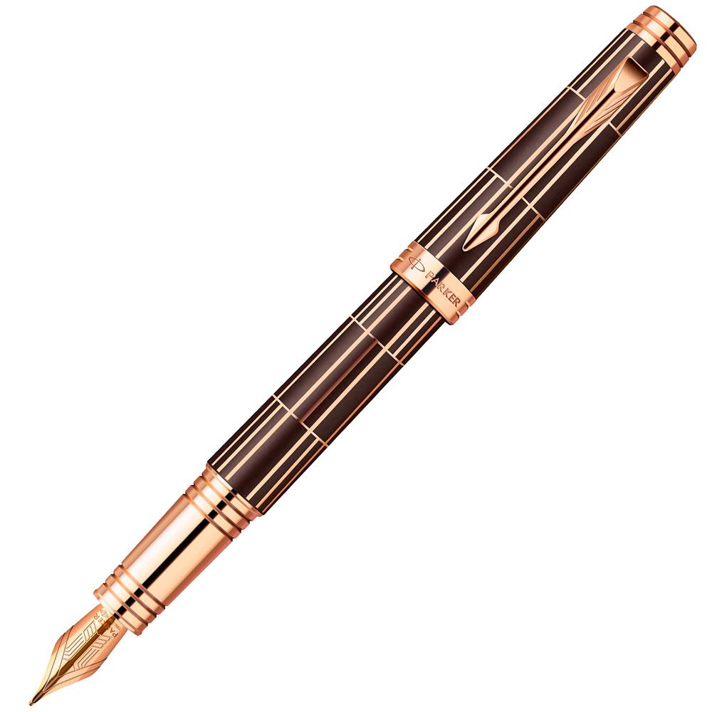 Перьевая ручка Parker Premier Luxury Brown PGT