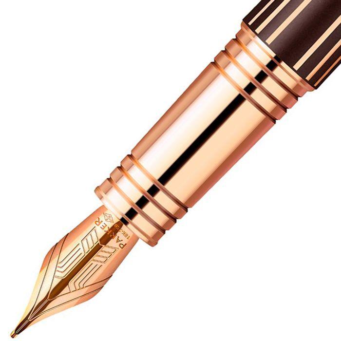 Перьевая ручка Parker Premier Luxury Brown PGT