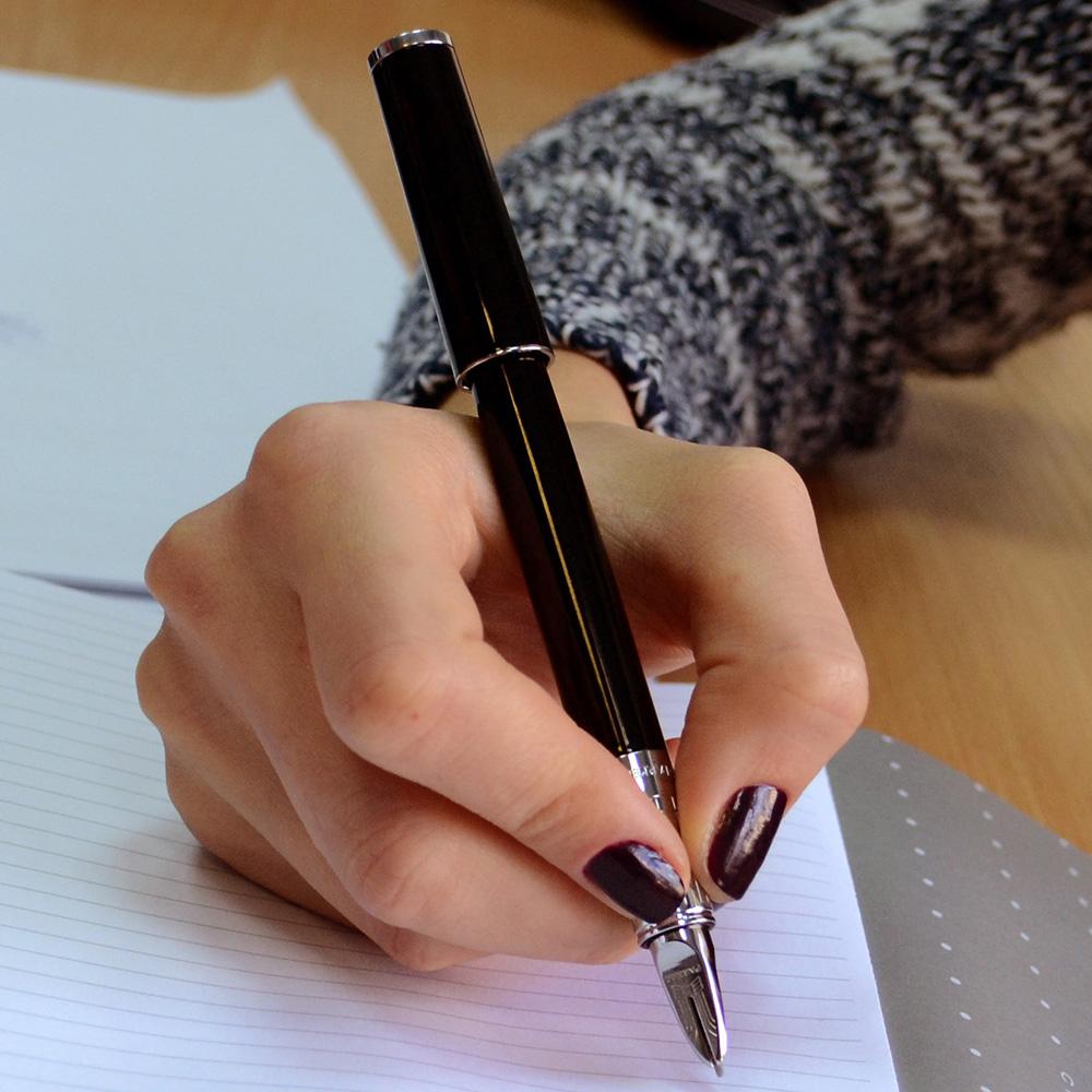 Ручка 5го поколения Parker Ingenuity Slim Black Lacquer CT