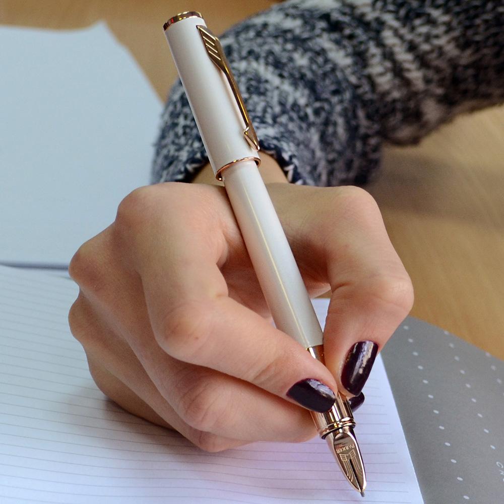 Ручка 5го поколения Parker Ingenuity Slim Pearl PGT