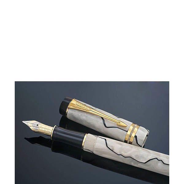 Перьевая ручка Parker DUOFOLD Pearl and Black юбилейный выпуск