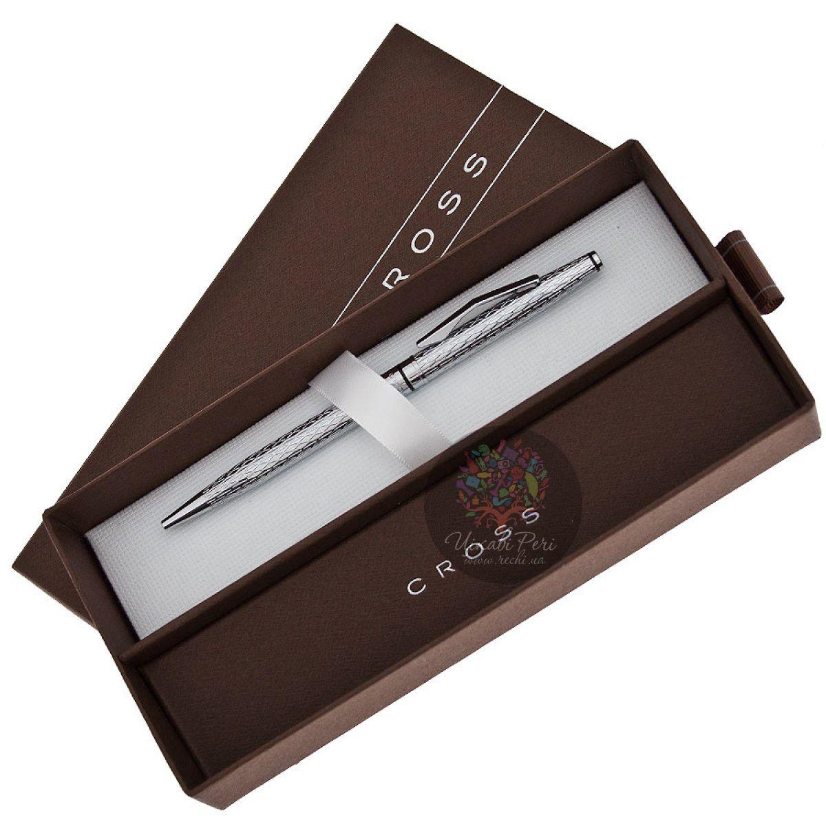 Шариковая ручка Cross Spire Icy Chrome