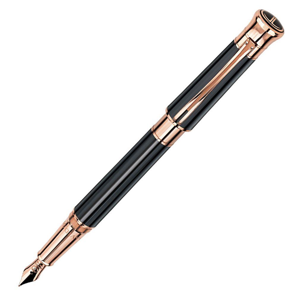 Перьевая ручка Davidoff Black Lacquer 21021