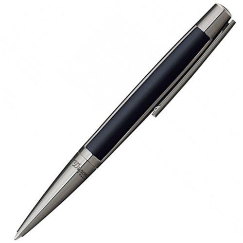 Шариковая ручка S.T. Dupont Defi Gun metal в подчеркнуто мужском стиле