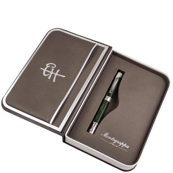 Роллеровая ручка Montegrappa Ernest Hemingway Soldier Silver Лимитированная коллекция