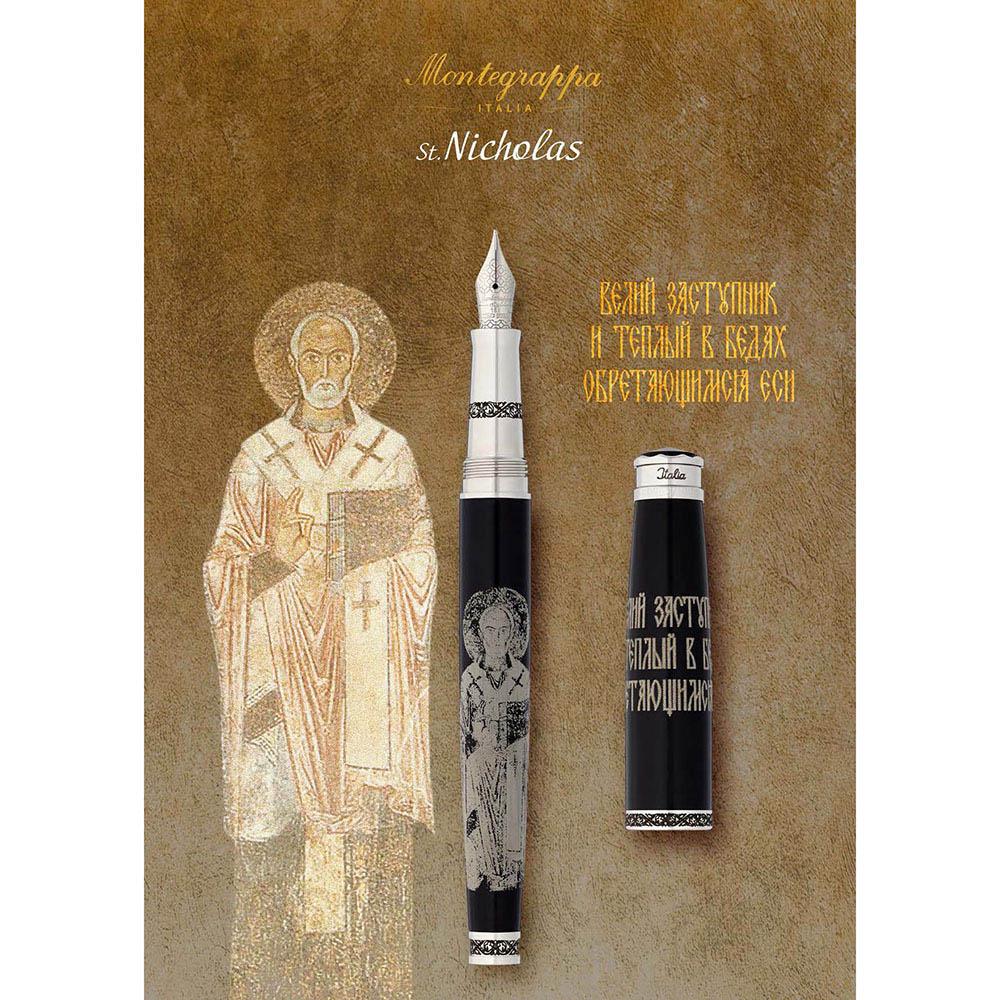 Коллекционная перьевая ручка Montegrappa Memoria St. Nicholas