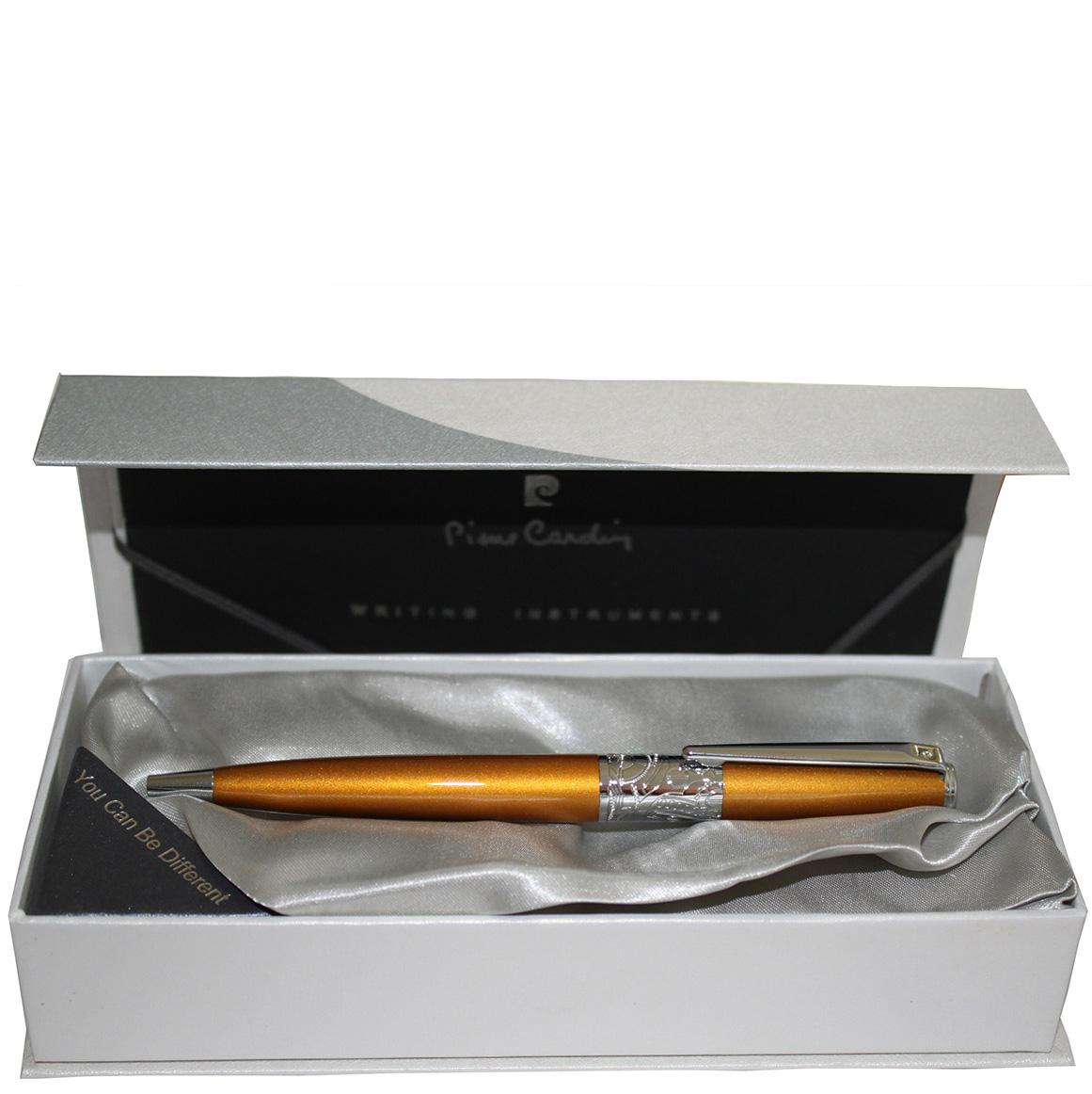 Ручка шариковая Rex Pierre Cardin золотого цвета