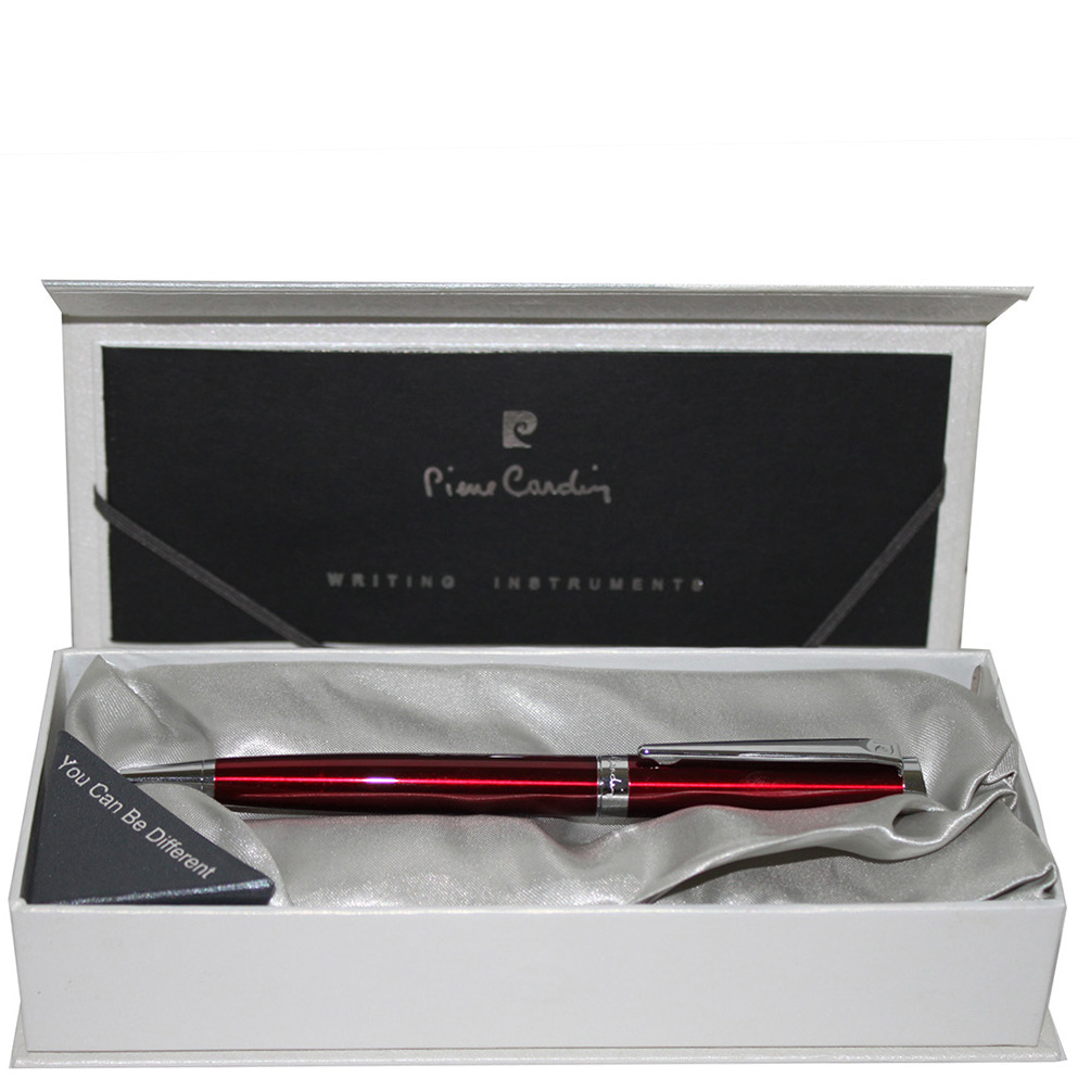 Ручка шариковая Classy Pierre Cardin красного цвета