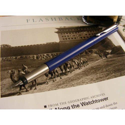Перьевая ручка Parker VECTOR Standart New Blue, фото