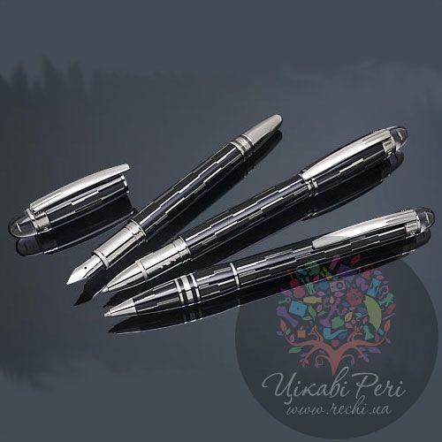 Капиллярная ручка MontBlanc Starwalker Black Mystery , фото