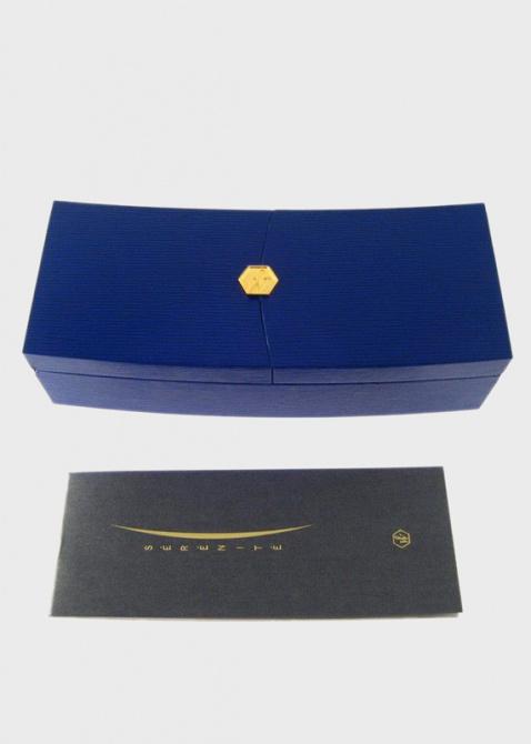 Серебряная перьевая ручка Waterman Serenite Blue ST, фото
