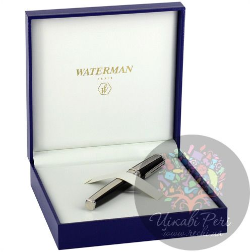 Перьевая ручка Waterman Exception Night/Day Platinum, фото
