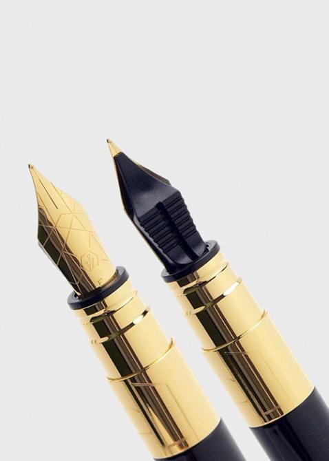 Перьевая ручка Waterman Perspective Black GT, фото