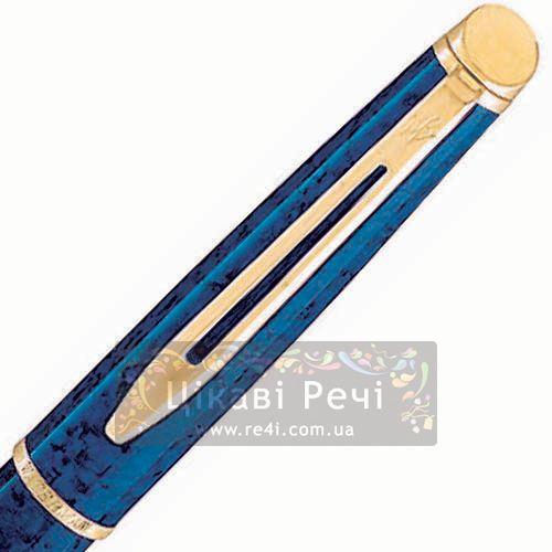Перьевая ручка Waterman Hemisphere Marblad Blue, фото