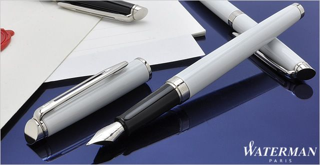 Перьевая ручка Waterman Hemisphere White CT, фото