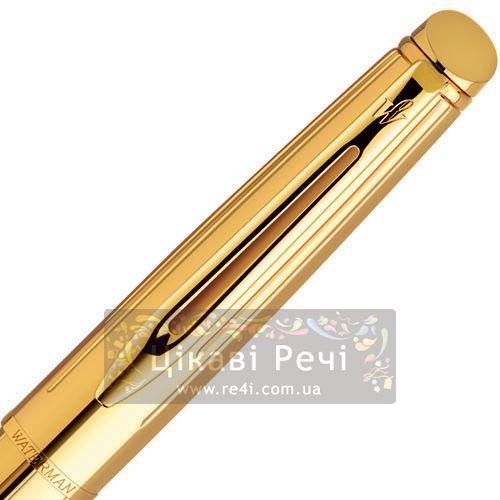 Перьевая ручка Waterman Hemisphere Golden Shine GT, фото