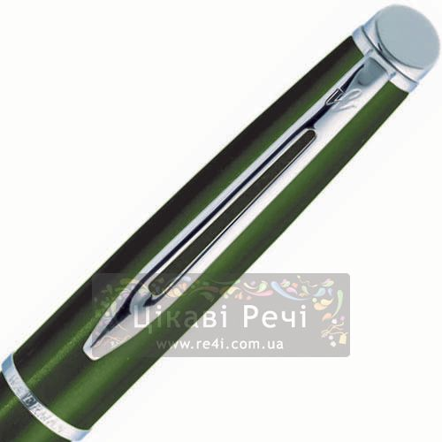 Перьевая ручка Waterman Hemisphere Metallic Green CT, фото