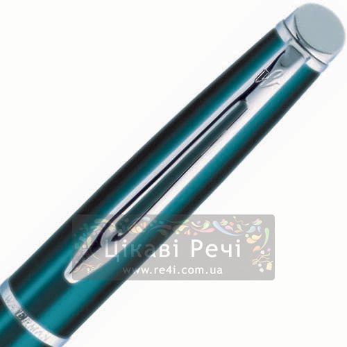 Перьевая ручка Waterman Hemisphere Metallic Blue CT, фото
