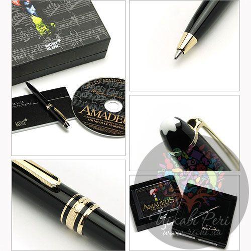 Набор MontBlanc Meisterstuck Hommage W.A. Mozart: перьевая ручка и компакт-диск, фото