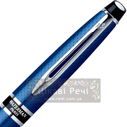Шариковая ручка с чехлом Waterman Expert Urban Blue CT, фото