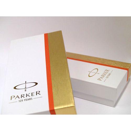 Подарочный набор из перьевой и шариковой ручек Parker IM Black CT, фото