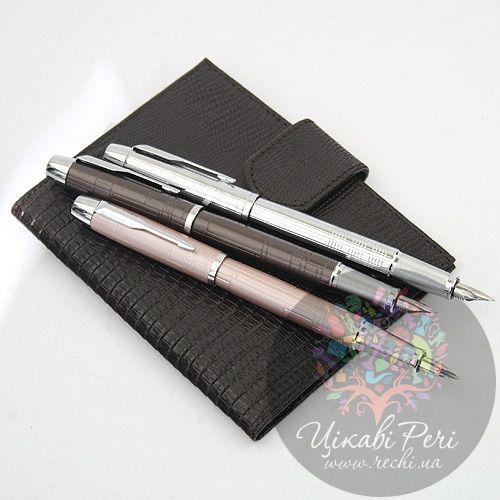 Перьевая ручка Parker IM Premium Shiny Chrome Chiselled, фото
