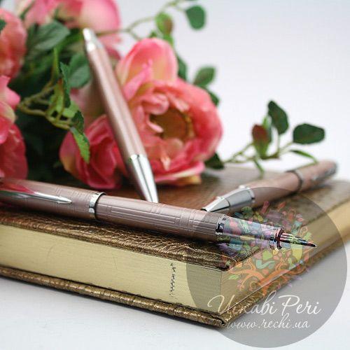 Перьевая ручка Parker IM Premium Metallic Pink, фото