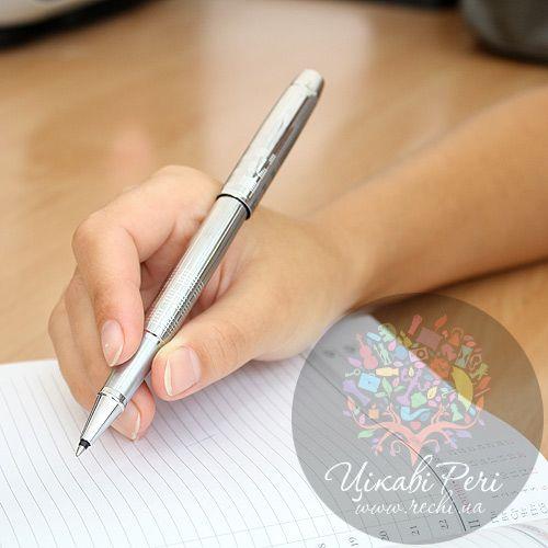 Ручка-роллер Parker IM Premium Shiny Chrome Chiselled, фото