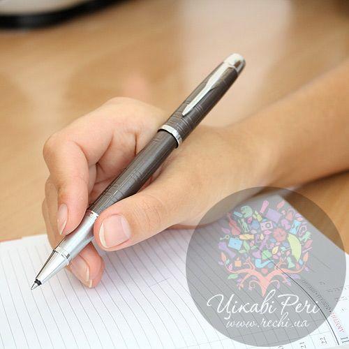Ручка-роллер Parker IM Premium Metallic Brown, фото