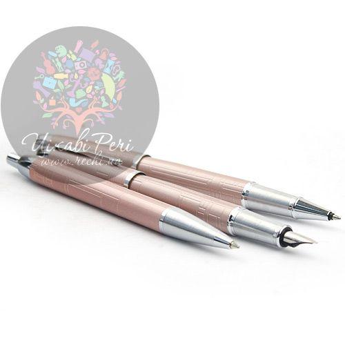 Ручка-роллер Parker IM Premium Metallic Pink, фото